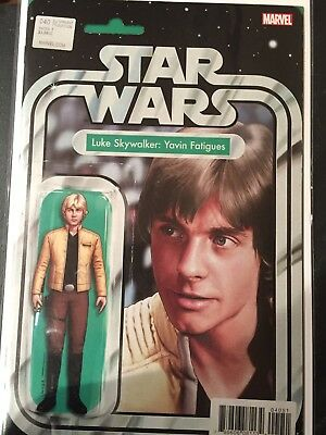 SIGNED Star Wars #40 Action Figure Variant - Luke Skywalker Yavin - Exclusive