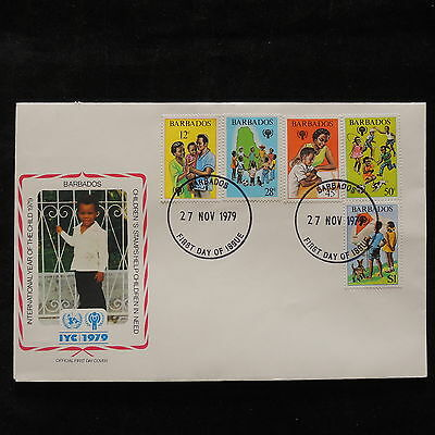 PG-A675 BARBADOS IND - Fdc, 1979, International Year Of Child Cover
