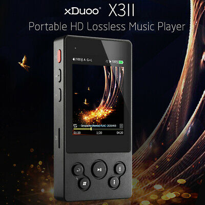 xDuoo X3II HiFi Music Player High Fidelity Lossless Audio Player Support DSD BT