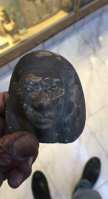 Rare Antique Ancient Egyptian limestone Head queen tiye