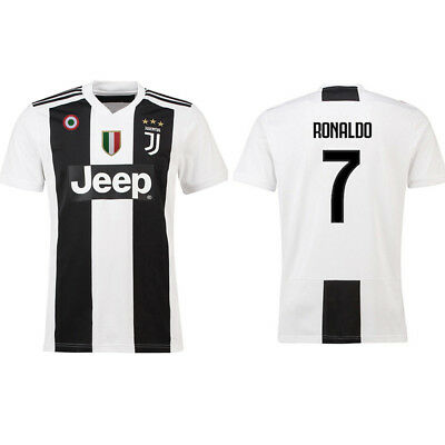 CR7 Italy Jven Home Cristiano Ronaldo White Soccer Shirt Football #7 T Shirt