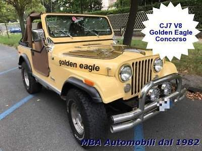 JEEP CJ-7 Golden Eagle V8 QuadraTrack