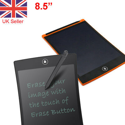 """8.5"""" LCD Writing Pad Hand Tablet Drawing Electronic Digital Memo Message Boards"""