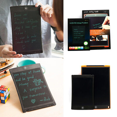 12'' LCD Writing Pad Hand Tablet Drawing Electronic Digital Memo Message Boards