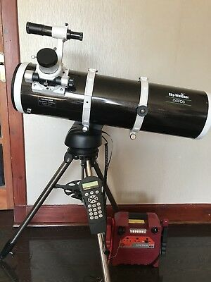 Skywatcher 150 Pds Reflector Telescope And Star Discovery goto Mount and extras