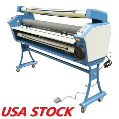 "USA 55"" Entry Level Full-auto Roll to Roll Wide Format Cold Laminator Upgraded"