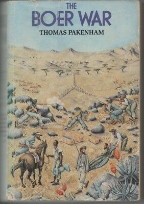 Boer War The Boer War' by  Pakenham  1991  softback Good Condition