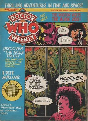 Dr Who Weekly #32 May1980 Fine+  condition