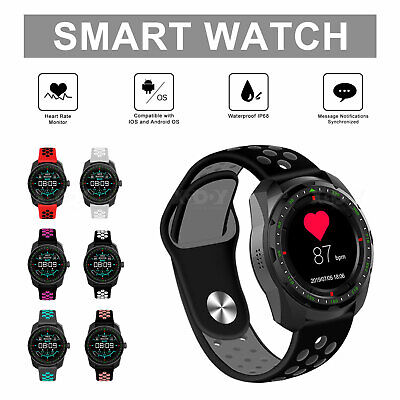 Running Watch GPS Sports Walking Fitness Tracker Bluetooth Smartwatch Heart Rate
