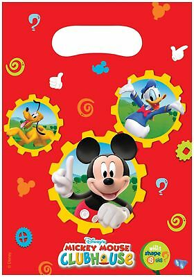 Amscan party Bags - Mickey Mouse (6 bags) (Y2r)