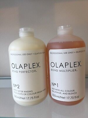 Olaplex No.1 No.2 15/30ml Genuine Olaplex UK Seller Damaged Hair Treatment