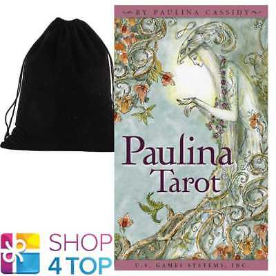 Paulina Tarot Deck Playings Cards Esoteric Us Games Systems With Velvet Bag New