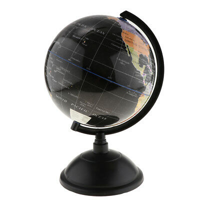 Spinning Interactive World Globe Educational Learning Toys Kits Blue 33cm H