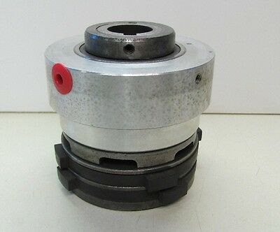 """Conway Pneumatic Clutch 1"""" 3/16"""" Bore Rebuilt Used"""