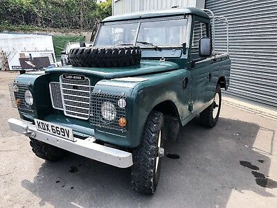 SWB Land Rover Series 3 88 - Great fun