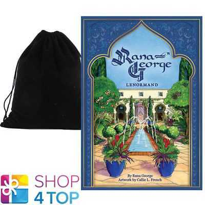 Rana George Lenormand Oracle Cards Deck Esoteric Astrology With Velvet Bag New
