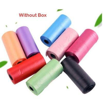 15xSingle Color Random Baby Disposable Point-off Garbage Disposable Bag Diapers.