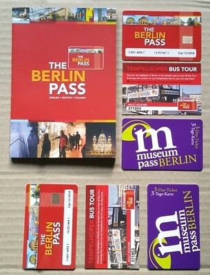 Berlin City Passes – Set of two 3-day sight-seeing passes