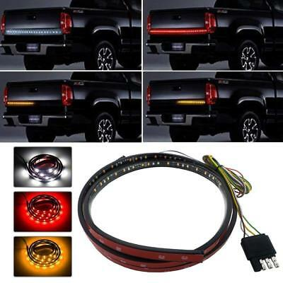 Red+White Tailgate LED Light Bar Pickup Backup Brake Turn Signal Truck Light