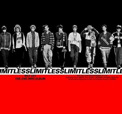 NCT- [ LIMITLESS ] 2nd Mini Album: RANDOM VER + FULL PACKAGE + TRACKING NUM, NEW