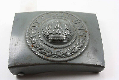"WW II Vintage German Belt Buckle ""Gott Mit Uns"" German Army Prussian Belt Buckle"