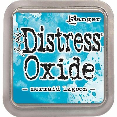 Ranger Distress Oxide Ink Pad 3in x 3in by Tim Holtz | Mermaid Lagoon