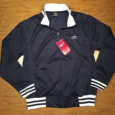 Rawlings (F-02) Men's NWT New With Tags Navy Blue Jacket Size A Small