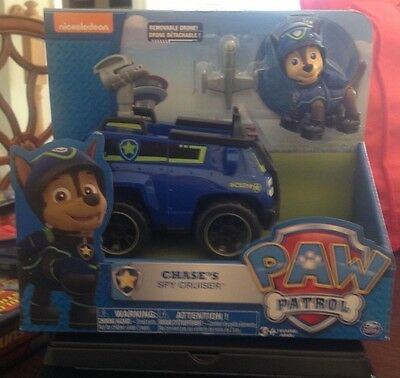 Spin Master Nickelodeon Paw Patrol Chase's Spy Cruiser 3+ New In Package