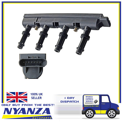 Ignition Coil Pack  Chevrolet Opel Vauxhall Astra Adam Corsa Mervia 7 Pin Plug