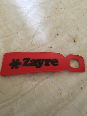 Authentic Vintage Zayre Shoehorn red