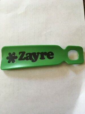 Authentic Vintage Zayre Shoehorn Green