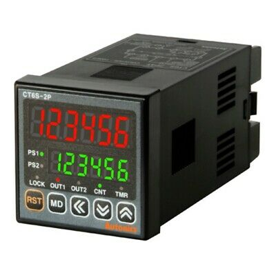 Autonics CT6S-1P4 Programmable Timer Counter 1 stage preset 6 digit W48 x H48mm