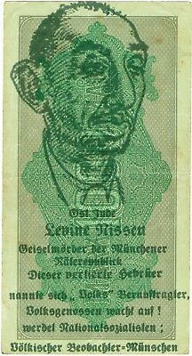 1000 Mark Reichsbanknote 1923