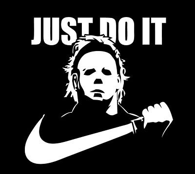 d748cdaa JUST DO IT Michael Myers Halloween shirt Horror Film scary movie Mike  slasher