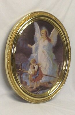 Home Interior Homcoa Beautiful Guardian Angel Picture 2499