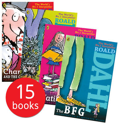 Roald Dahl Book Collection - 15 Books