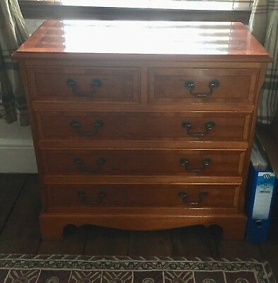 small antique style reproduction chest of drawers