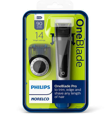- OPEN BOX - Philips Norelco Oneblade QP6520/70 Pro Electric Trimmer Shaver