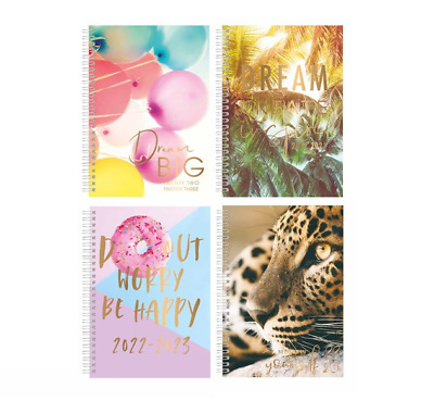 2020-2021 Academic Diary A5 Week to View  Hardback Spiral Student Teacher Diary