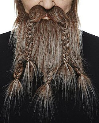 High quality Viking, Dwarf barba finta, autoadesivi (W1n)