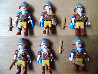 Playmobil 6 Germanenjungs Kinder Children Saxonie Germanen Gallier vs. Romans