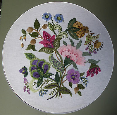 'Masquerade'  a Crewel Embroidery kit from Needlewoman Studio