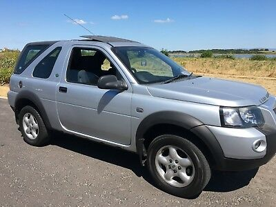 2006 Landrover Freelander 2. Hdi Adventurer Silver Three Door