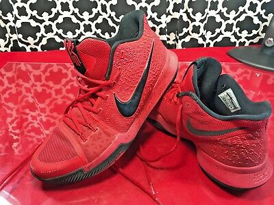 ee50ddccf42c NIKE KYRIE 3 Three Point Contest (Candy Apple) Red Shoes - Sz. 13 ...