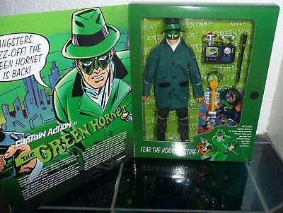 Playing Mantis 1998 Exclusive Captain Action The Green Hornet Action Figure 30cm