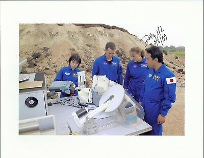 AUTOGRAPH, HAND SIGNED STS-131 Astronaut DOROTHY METCALF LINDENBERG