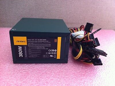 Antec EarthWatts EA-380D Green 380W 80Plus Bronze Power Supply NEW OPEN PS1543DS