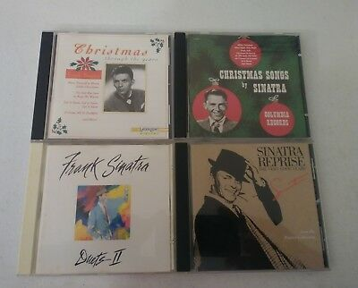 Lot Of 4 Frank Sinatra CD's Very Good Years Duets II Christmas Songs Through The