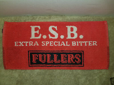 Vintage FULLERS E.S.B EXTRA SPECIAL BITTER ALE British English Bar Pub Towel