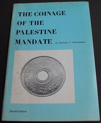 Vintage - The Coinage Of The Palestine Mandate By Trowbridge Scarce